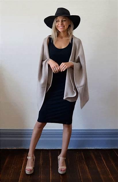Wrap Chunky Sleeveless Merino Wool Cardigans Scarves