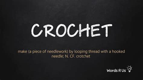 pronounce crochet  american english youtube