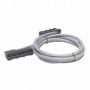 Apc Data Distribution Cable  Cat5e Utp Cmr Gray  6xrj