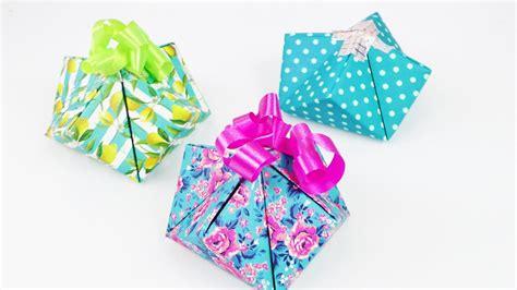 s 252 223 e geschenkverpackung falten einfache schnelle geschenk box selber machen diy idee