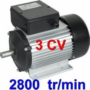 Moteur Triphasé En Monophasé : moteur lectrique monophas 3 cv 2250 watts achat vente moteur soufflerie moteur ~ Maxctalentgroup.com Avis de Voitures
