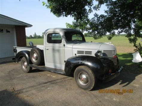 Find Used 1940 Dodge 3/4 Ton Express Pickup Truck. In