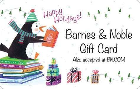 Holiday Penguin Gift Card