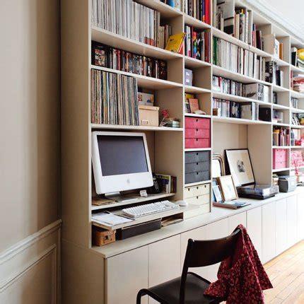bibliotheque bureau 12 idées déco insolites pour un petit bureau chez soi