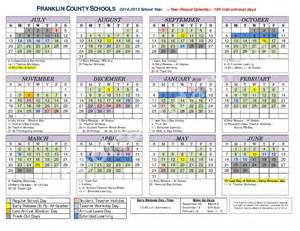 elementary school calendar 2014 2015