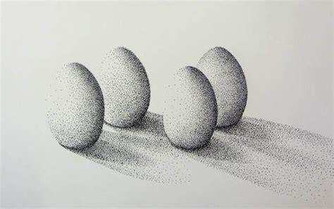 waldorf  grade drawing charcoal stippling