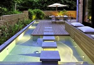 Mini Pool Design : mini spa design for small terraced houses ~ Markanthonyermac.com Haus und Dekorationen