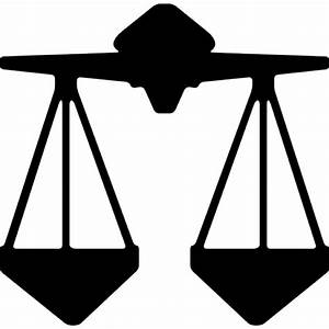Libra balance justice scale sign Icons | Free Download