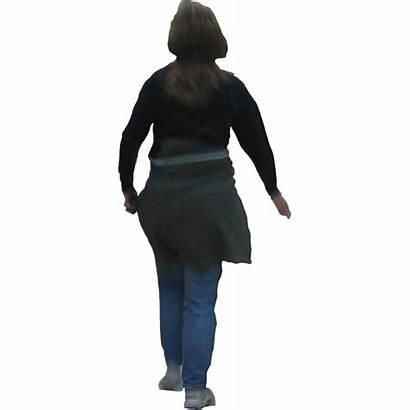 Walking Away Walk Mom Silhouette Transparent Woman