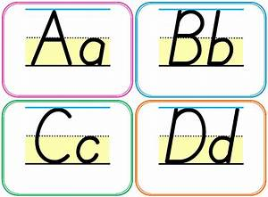 testy yet trying homeschool and teacher resource With alphabet letters with pictures for word wall