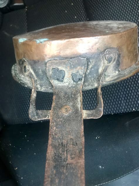 whats  deal   copper cookware antiques board