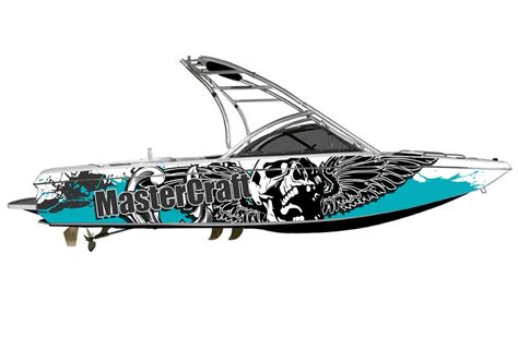 Custom Boat Decals by Custom Boat Graphic Wraps Boat Decals Boat Design