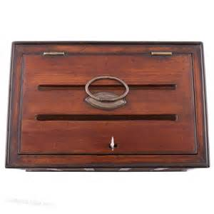 antiques atlas regency desk top letter box With desk letter box