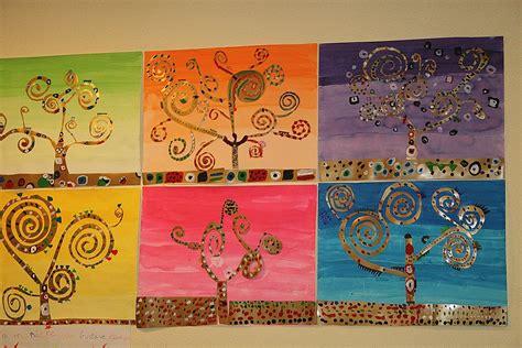 les arbres en arts visuels en maternelle la maniere de