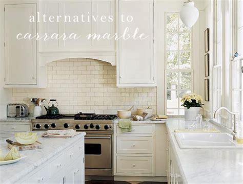 marble look countertops the great kitchen counter debate alternatives to carrara