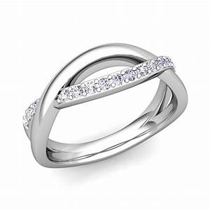 matching wedding bands diamond infinity wedding ring in With matching platinum wedding rings