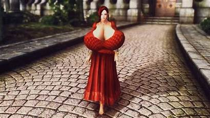 Huge Boobalicious Clothes Loverslab Boobed Replacer Armor