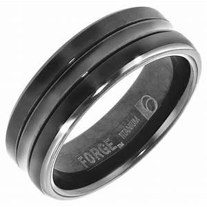 Men39s Titanium Wedding Bands Unique Engagement Ring