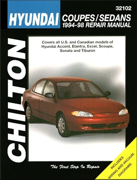 car repair manuals online pdf 2009 hyundai tiburon free book repair manuals accent elantra excel scoupe sonata tiburon repair manual 1994 1998