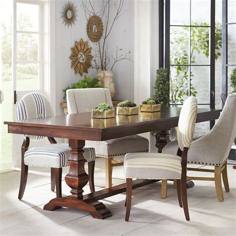 pier 1 kitchen table and chairs bradding espresso 84 quot dining table pier 1 imports