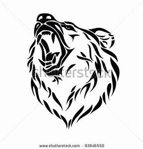 Grizzly Bear Clip Art | grizzly bear head vector – Item 3 ...