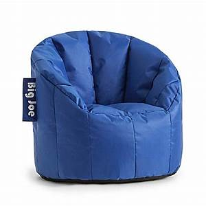 comfort research big joe kids lumin chair in sapphire With big bean bag chairs for sale