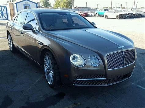 salvage  bentley continental flyingspur gtc