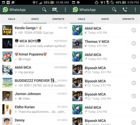 how to revert whatsapp material design version to version and