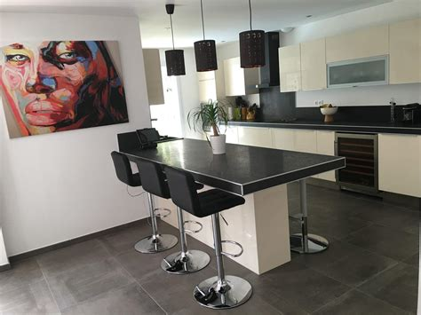 cr馘ence cuisine verre sur mesure chambre gris et pale