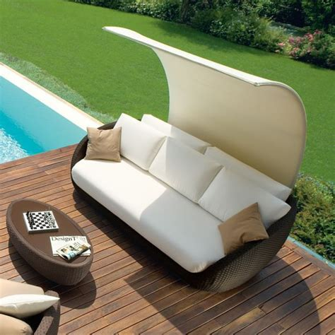 Terrassen Lounge Möbel by Rattan Lounge Sofa 252 Berdachung Roberti Italien Terrasse