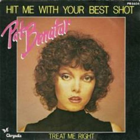 pat benatar hit me with your best treat me right ep spirit of rock webzine fr