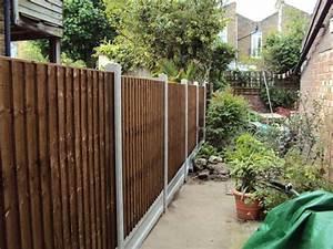 Idee Cloture Jardin : cloture jardin bois pour un ext rieur tout naturel ~ Melissatoandfro.com Idées de Décoration