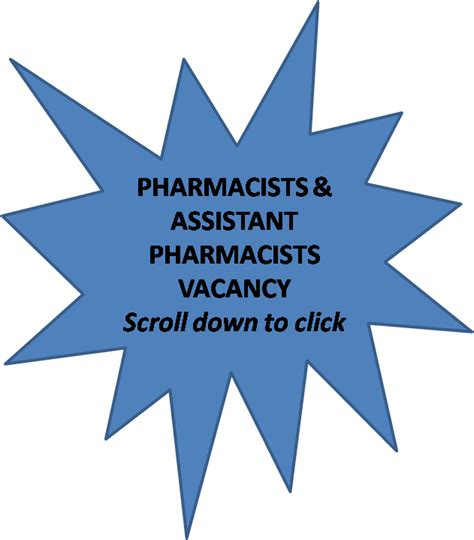 Pharmacist Vacancy by Pharmjobs Org Apply For Pharmacist And Assistant