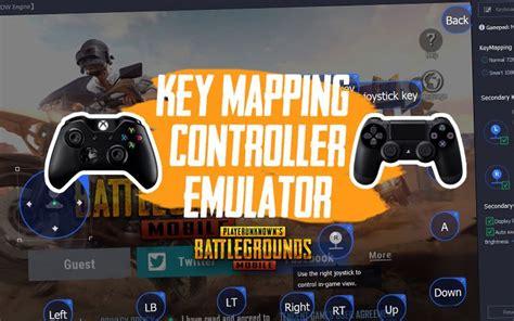 setup key mapping gamepad emulator pubg mobile gcube