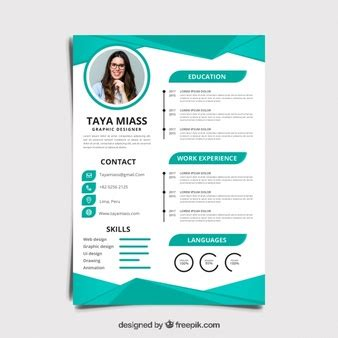 Curriculum Vitae Design Template by Curriculum Vitae Vectors Photos And Psd Files Free