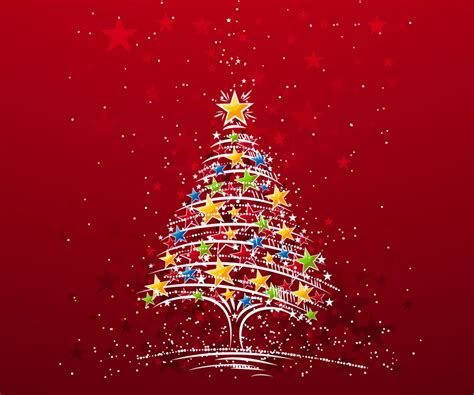 Colorful Christmas Tree Android Wallpapers 960x800 Mobile Phone Pictures