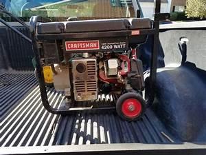 Craftsman 4200 Watt Generator For Sale In Charlotte  Nc