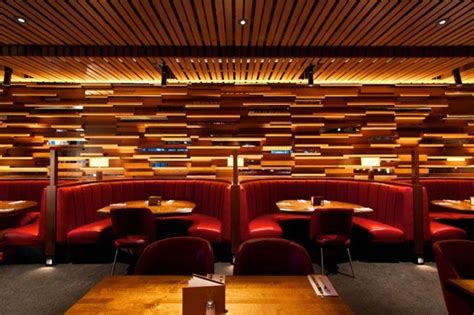 custom restaurant booth and tables for the cactus club