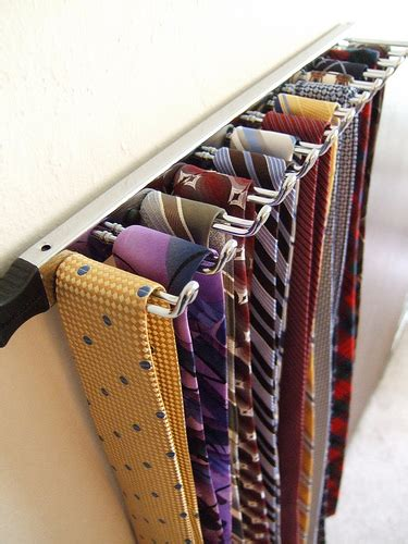 Tie Rack For Closet by To Hang Or To Fold The Significant