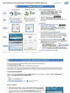 Anyconnect 3 0 User Guide
