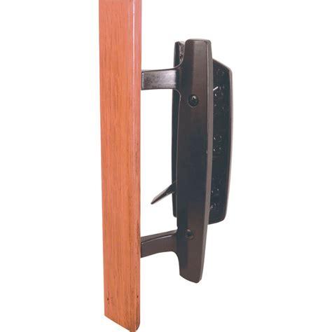 door handles home depot prime line black patio door handle set the home depot canada