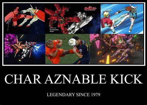 Gundam Memes - gundam meme the famous char aznable kick gundam kits collection news and reviews