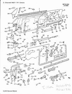 82-87 Camaro Door Exploded Diagram