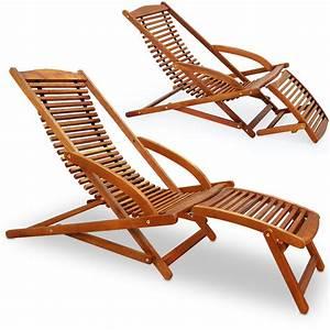 Garten Liegestuhl Holz Holz Liegestuhl Strandliege Sonnenliege