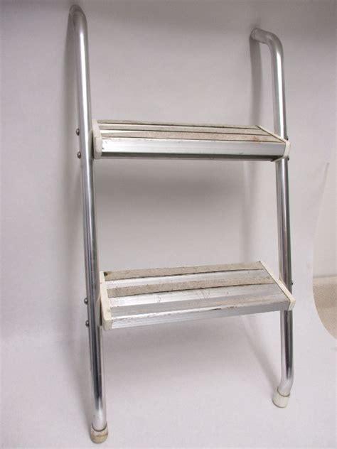 Vintage Boat Ladder by Vintage Omc Cruiser 2 Step Boat Swim Platform Ladder Ebay