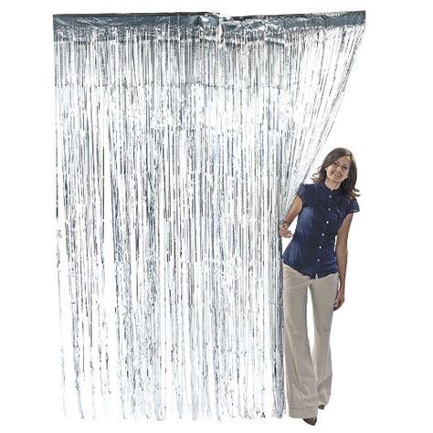 metallic foil fringe curtains photobooth prop ideas mid south