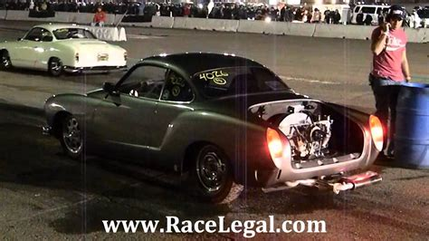 karmann ghia race car 1966 karmann ghia vs 1973 karmann ghia drag racing
