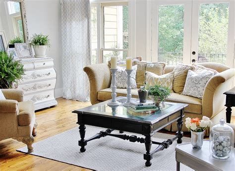 southern living living room furniture southern country house tour