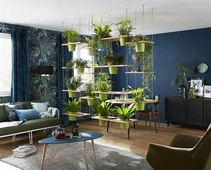 rideau vegetal entre le salon et la salle a manger convier With salle a manger nature