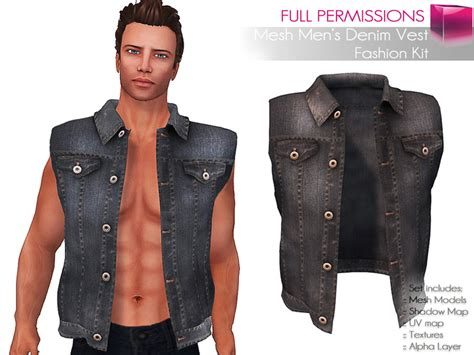 Second Life Marketplace Full Perm Rigged Mesh Men